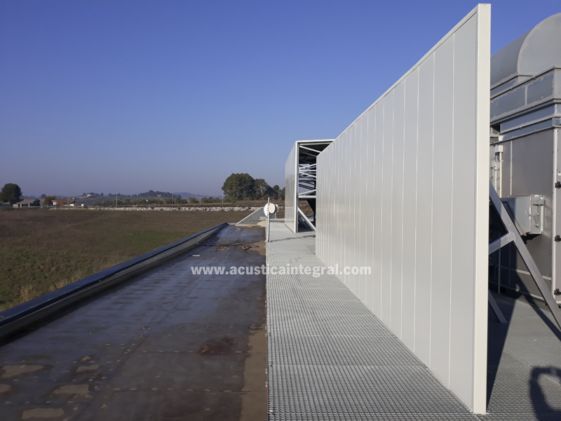 Industrial Acoustic Barrier