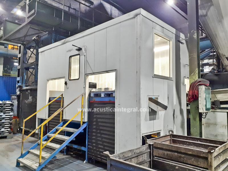 Acoustic enclosure - Inside Industry